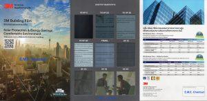 ตัวอย่างฟิล์ม 3M FX & Reflective Series